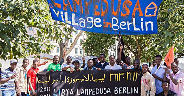 Lampedusa in Berlin, il sogno dei migranti parte dalla Sicilia e si ferma a Kreuzberg