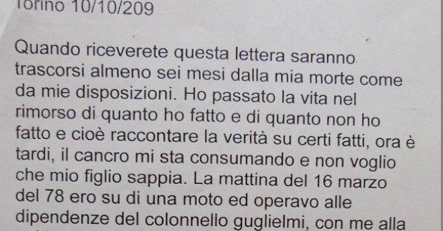 Lettera Moro