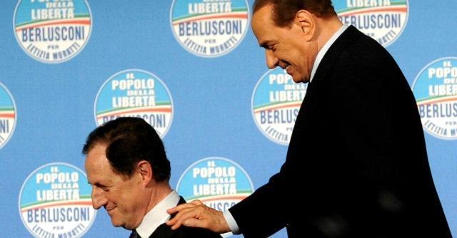 Mantovani e Berlusconi