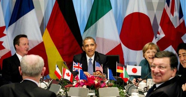 """Obama: """"Mondo più sicuro quando Usa e Ue sono uniti. Russia è isolata"""""""