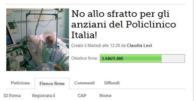 Roma, per gli anziani malati a rischio trasferimento scatta la solidarietà sul web