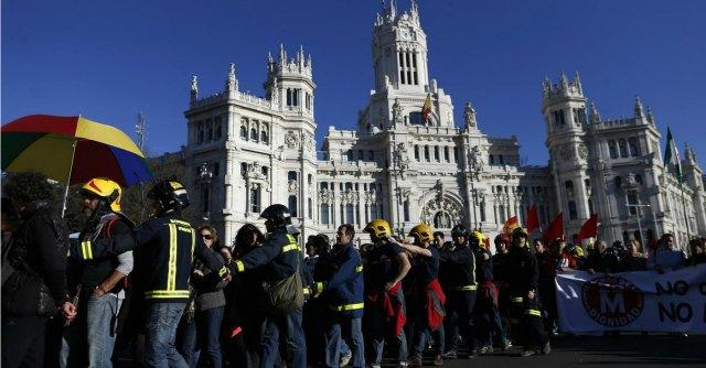 Proteste Madrid