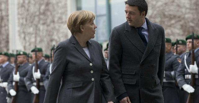 """Merkel: """"Il piano di Renzi è ambizioso"""". Il ministro Schaeuble: """"No rinvii su rigore"""""""