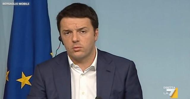 """Renzi: """"Governo? Rischio l'osso del collo. Ma obiettivo 2018 Pd al 40%"""""""