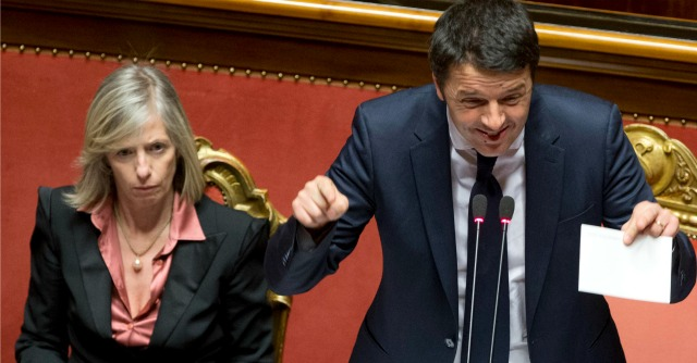 Renzi e Giannini