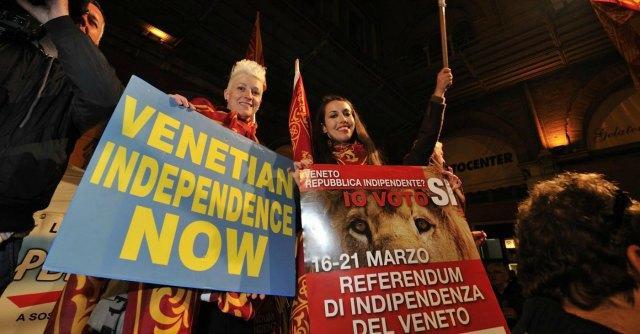 """Referendum indipendenza Veneto, """"2 milioni i sì. Decaduta sovranità italiana"""""""