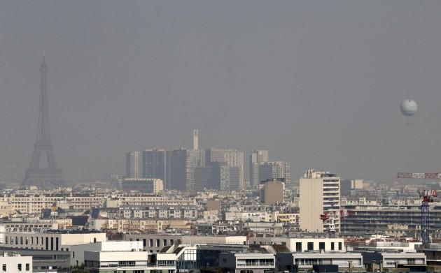 Inquinamento Parigi