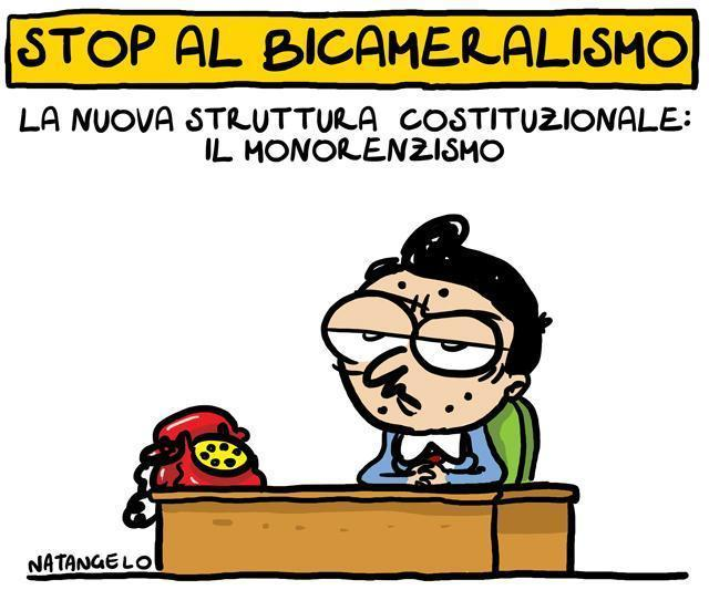 Bicameralismo addio