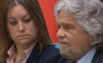 Servizio Pubblico, Beppe Grillo sulle nomine di Renzi
