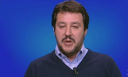 """Servizio Pubblico, Salvini: """"Arresti Veneto? Non c'è nulla"""""""