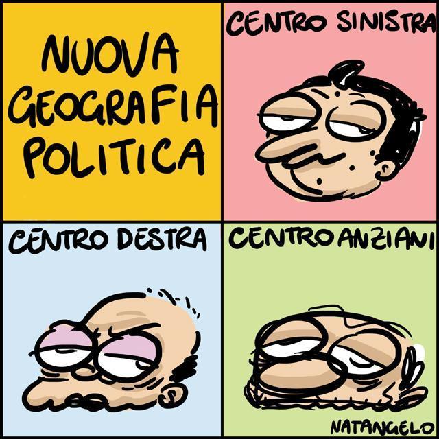 La vignetta del giorno: Nuova geografia politica