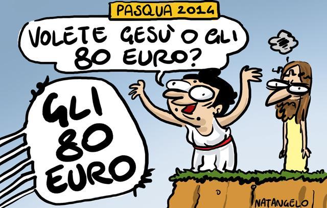 La vignetta del giorno: Pasqua 2014