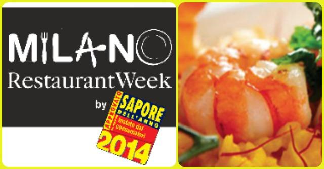 Milano Restaurant Week 2014: a tavola lusso low cost e beneficenza