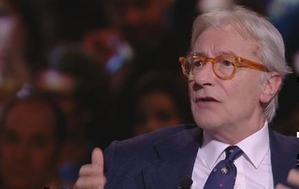 """Servizio Pubblico, Feltri: """"Toti è il sostituto di Alfano per Berlusconi"""""""