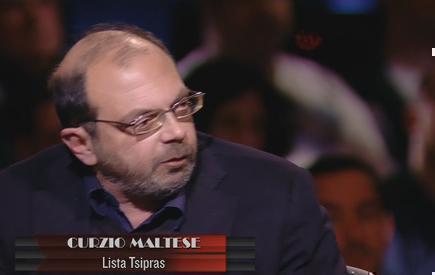 """Servizio Pubblico, Maltese: """"L'Italia è commissariata da tre anni dalla troika"""""""