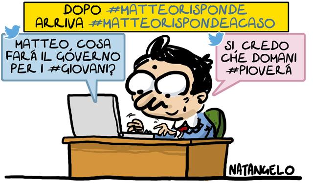 La vignetta del giorno: #Matteorisponde