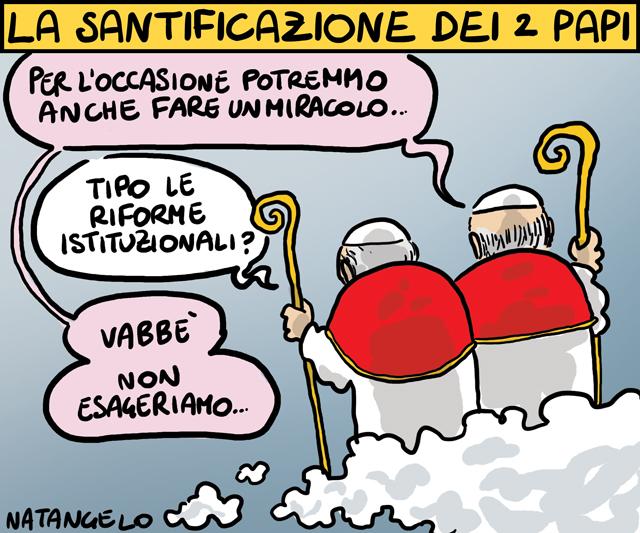 La vignetta del giorno: Il miracolo