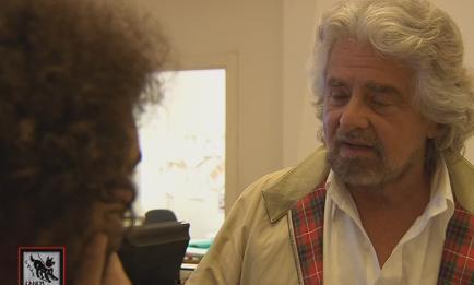 """Servizio Pubblico, Beppe Grillo: """"Uscire dall'euro? Si può"""""""