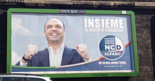 Alfano-Ciancio, i cartelli elettorali sugli spazi pubblicitari dell'editore inquisito