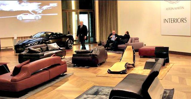 Salone del mobile 2014 il lusso esce dal garage arredi - Garage mobile per auto ...