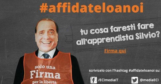 """Media Initiative per la libertà di stampa: """"Berlusconi ai servizi sociali? Datelo a noi"""""""