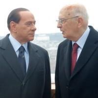Berlusconi Napolitano 640