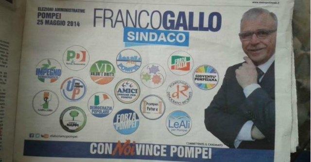 Comuni al voto, a Pompei si profila la strana alleanza Pd-Forza Italia