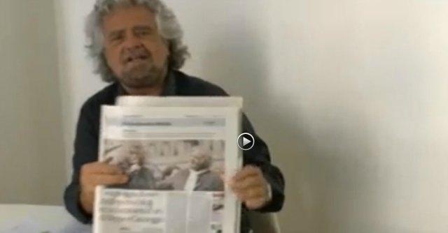 """Grillo contro Repubblica: """"Guadagni del blog? Mi sono rotto i coglioni"""""""