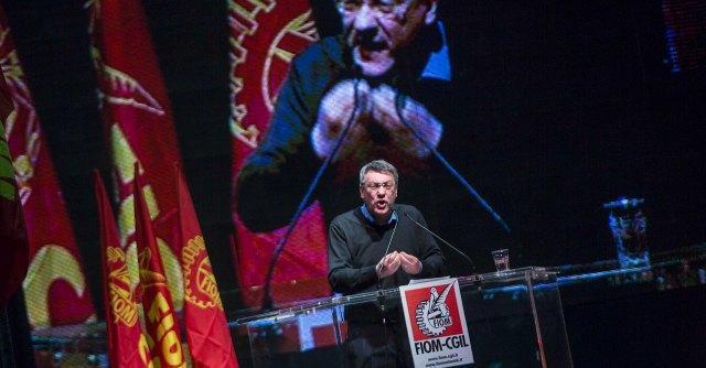 """Congresso Fiom a Rimini, il """"sindacato nel sindacato"""" di Maurizio Landini"""
