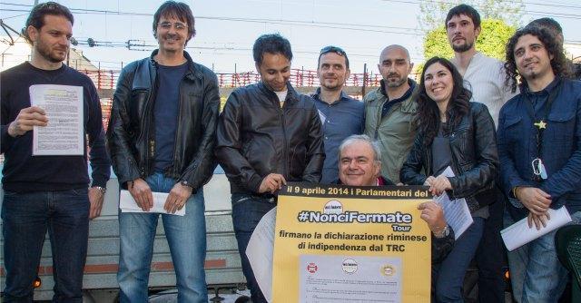 """Deputati M5S contro Tav romagnola: """"Fermeremo il Trc. E' un'opera inutile"""""""