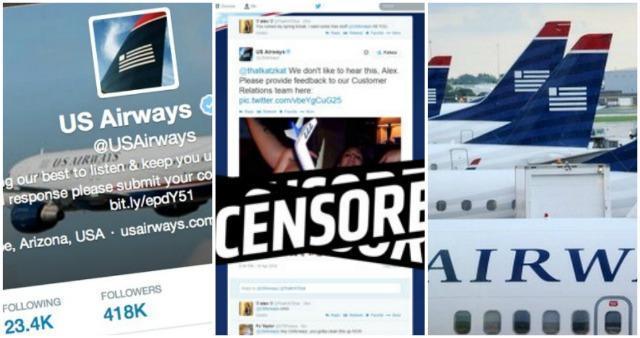 Twitter: US Airways si scusa per immagine porno, American Airlines vittima di scherzo