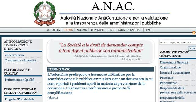 Anticorruzione, si dimettono i vertici dell'autorità nazionale