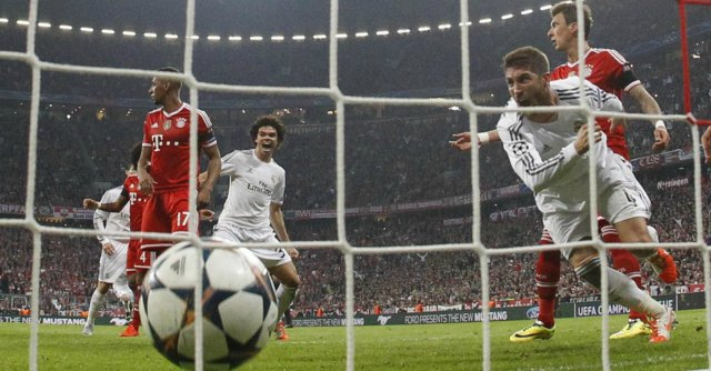 Champions League 2014, Bayern Monaco-Real Madrid 0-4. Ancelotti batte Guardiola