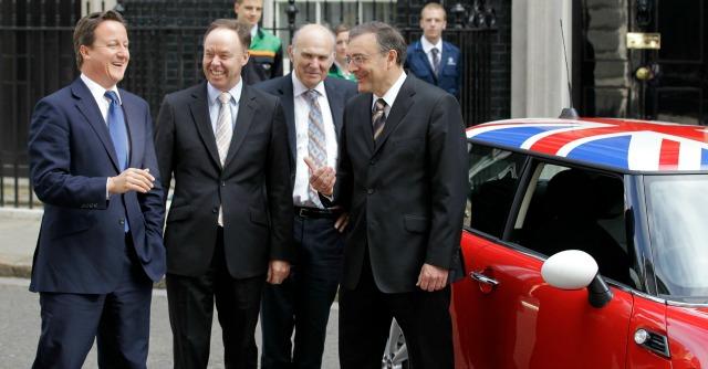 Cameron, Vince e Cable