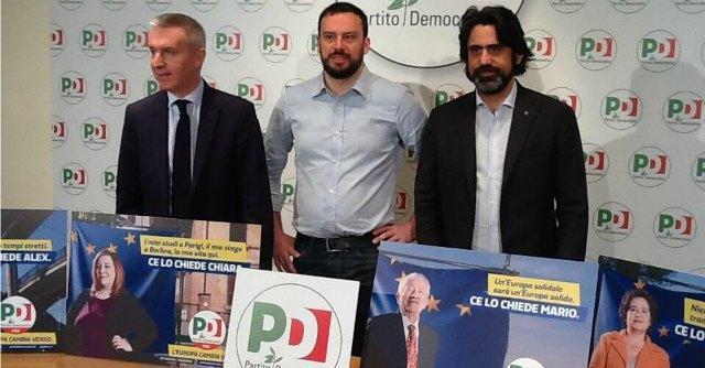Elezioni europee, al via la campagna del Pd e sul simbolo non c'è Renzi