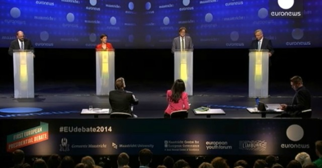 Europee, primo dibattito tv tra candidati in storia Ue. E Berlusconi è tema elettorale
