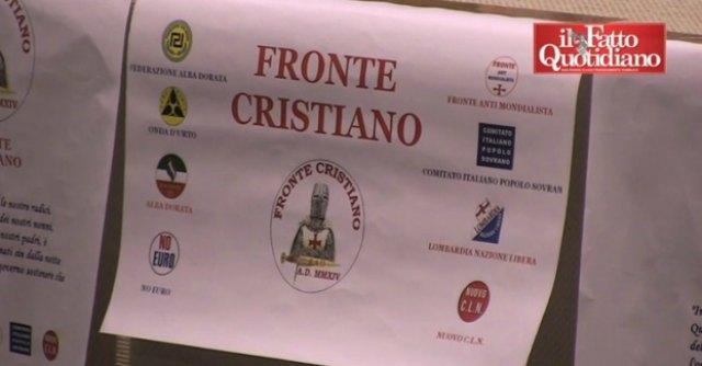 Parma, nasce Fronte cristiano: riunisce Alba Dorata e secessionisti veneti