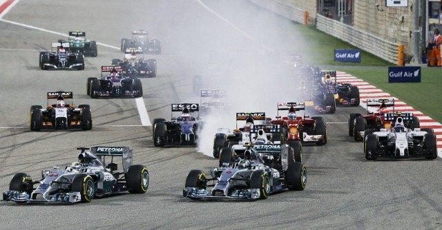 F1 2014 – Gp Bahrein, dominio Mercedes: vince Hamilton. Male le due Ferrari