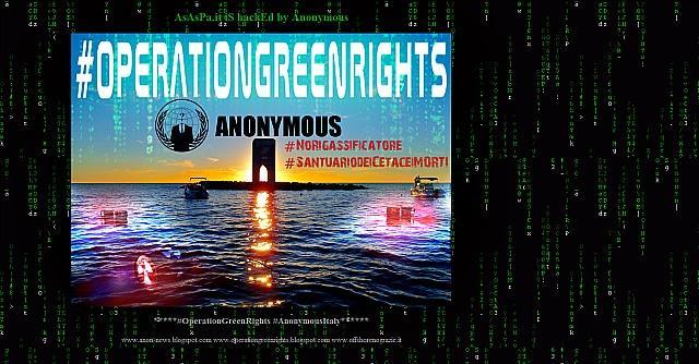 """Anonymous, attacco al sito della società del gas di Livorno: """"No al rigassificatore"""""""