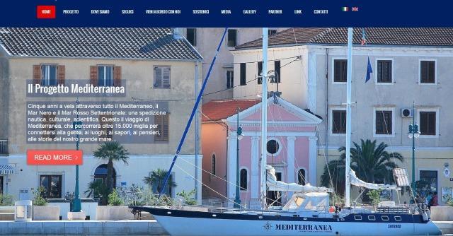 Mediterranea, pronta a salpare la regata scientifica finanziata in co-sailing