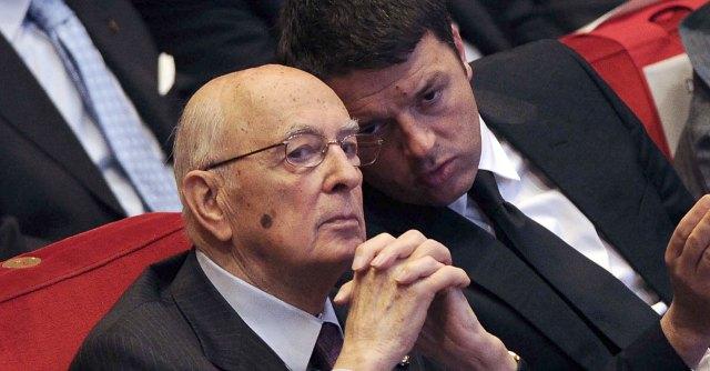 """Renzi al Colle da Napolitano. Berlusconi: """"Riforma Senato? Pronti a discutere"""""""