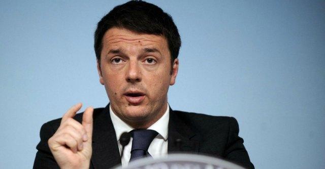 """Renzi: mi presento non più come premier ma da """"comune cittadino"""""""