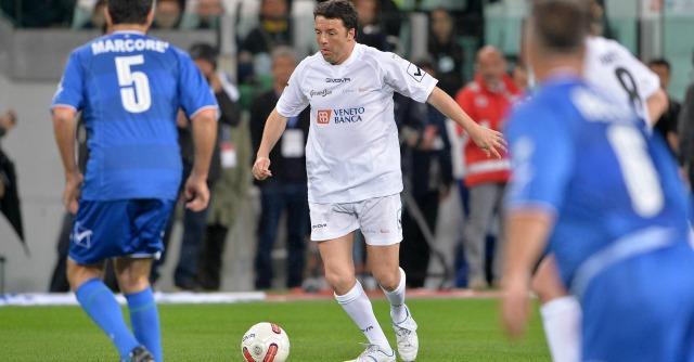 Renzi gioca con Baggio. E la Rai darà la diretta tv a una settimana dalle elezioni