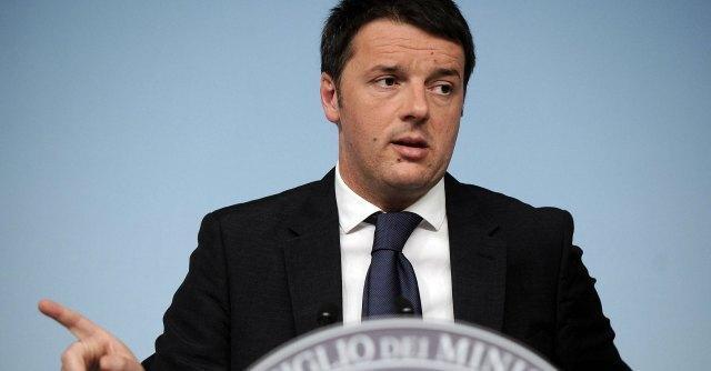 """Dl Lavoro, Renzi: """"Serve ok al più presto. Grillo-Brunetta chiacchieroni"""""""
