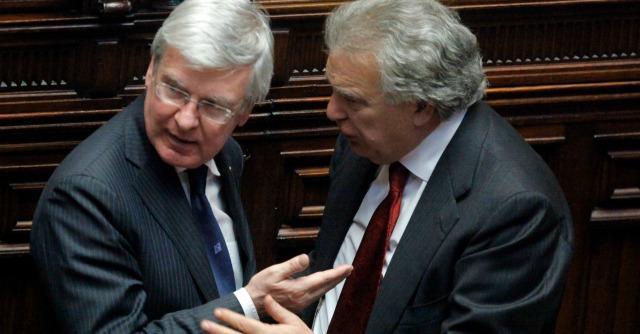 Paolo Romani e Denis Verdini