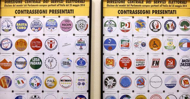 Elezioni europee 2014, presentati 64 simboli. Dal Bunga Bunga ai Poeti d'azione