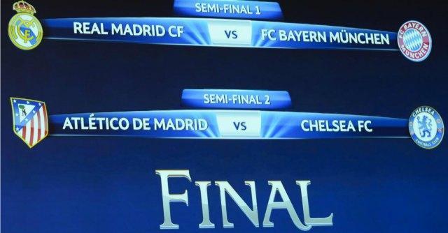 Sorteggi Champions – Europa League 2014, Real vs Bayern e Juve Benfica