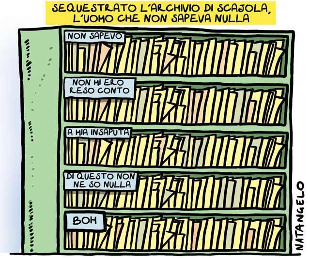 La vignetta del giorno: L'archivio segreto