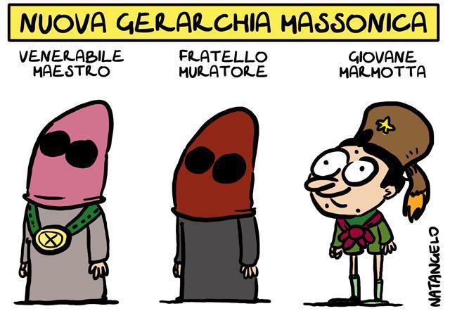 La vignetta del giorno: Il boyscout di Gelli
