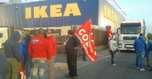 Sciopero Facchini Ikea